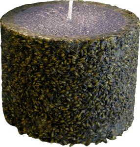 Свещ Лавандула с натурално лавандулово масло Ф 110