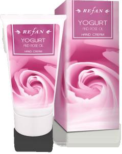 Крем За Ръце Йогурт И Розово Масло с масло от роза Дамасцена ( Rose Damascena)