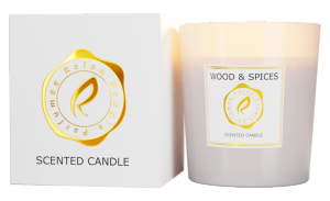 BOUGIE PARFUME SCENTED CANDLE - WOOD & SPICES