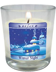 Winter Night Ароматна Натурална Соева Cвещ
