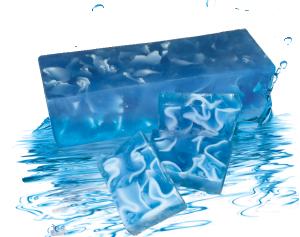 Ръчно изработен глицеринов сапун  SEA WAVES 1 кг