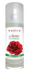 Освежаваш спрей за тяло с натурална розова вода