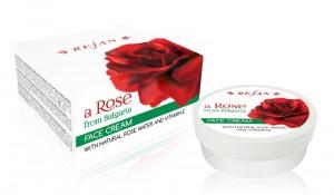 Крем За Лице с Витамин Е и натурална розова вода