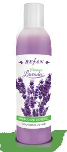 Шампоан Душ-Гел С Натурално Лавандулово Масло и Йогурт 250 Мл Provence Lavender