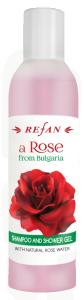 Шампоан И Душ Гел с натурална розова вода
