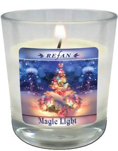 Magic Light Ароматна Натурална Соева Cвещ