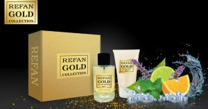 Комплект REFAN 407 GOLD COLLECTION MEN