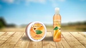 Комплект Melon and Apricot + Душ гел подарък