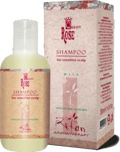 Шампоан  Кралица Роза с  розово масло