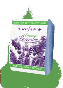 Пилинг Сапун-Гъба 75 гр Provence Lavender с масло от  лавандула