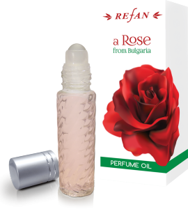 Парфюмно Масло Рол-Он с натурална розова вода