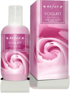 Шампоан За Тяло И Коса Йогурт И Розово Масло с масло от роза Дамасцена ( Rose Damascena)
