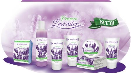 Комплект С Натурално Лавандулово Масло и Йогурт Provence Lavender