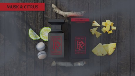 LIMITED BLEND 55 МЛ - MUSK & CITRUS
