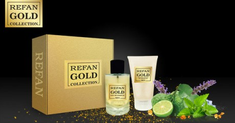 Комплект REFAN 420 GOLD COLLECTION MEN