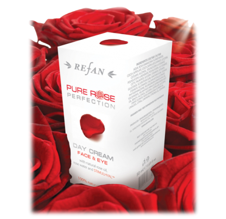 Дневен крем за лице и околоочен контур Pure Rose Perfection 50ml